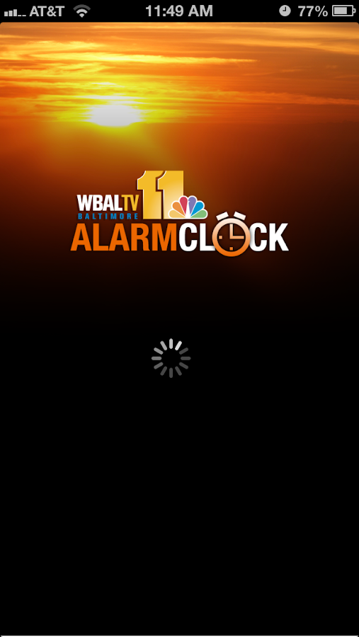 Alarm Clock WBAL-TV 11 - screenshot