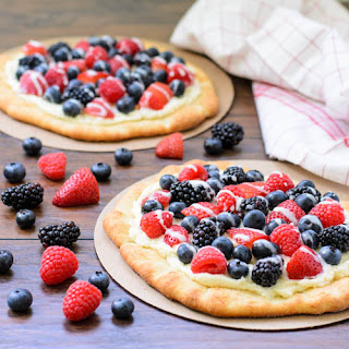 Summer Berry Pizza