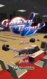 Galaxy Bowling 3D Lite - screenshot thumbnail