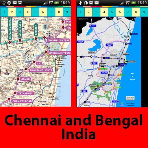 印度钦奈地图 交通運輸 App LOGO-硬是要APP