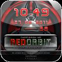 theme clock REDORBIT logo
