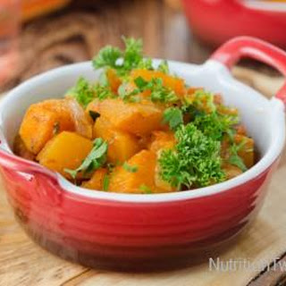 Roasted Butternut Squash with Garlic and Parsley