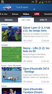 Eurosport.com - screenshot thumbnail