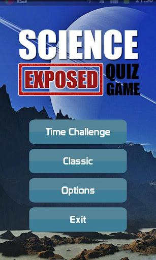 Science Exposed Quiz
