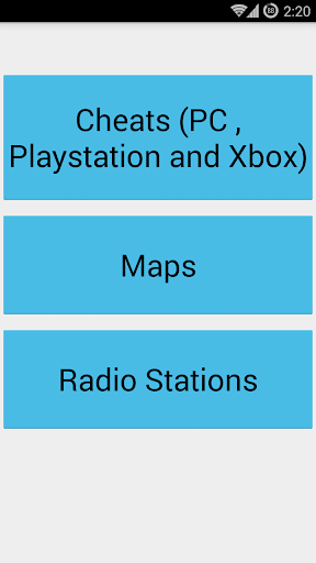 Cheats Maps for GTA 4