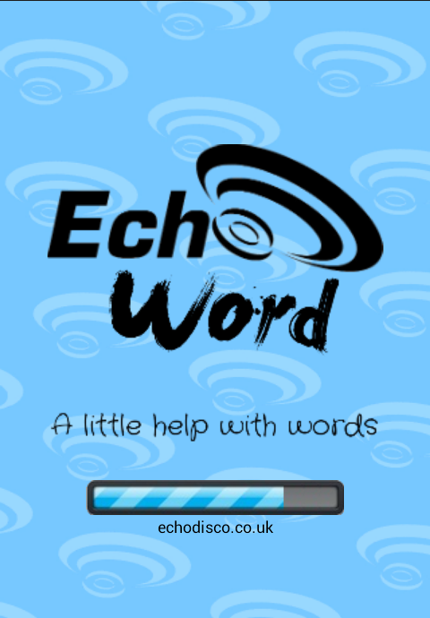Echo Word- screenshot