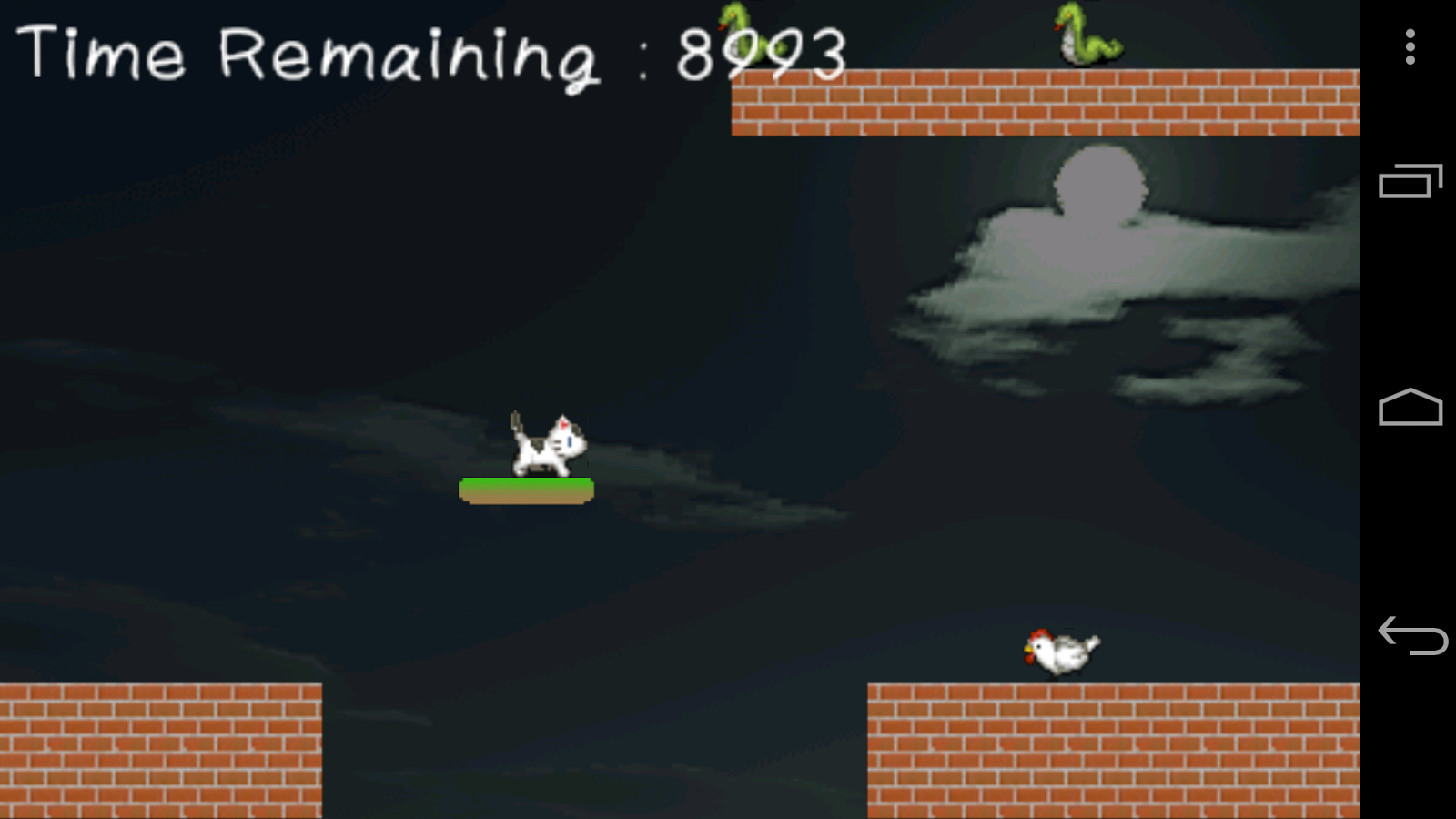 CowCat Jump!: Platform Game - screenshot