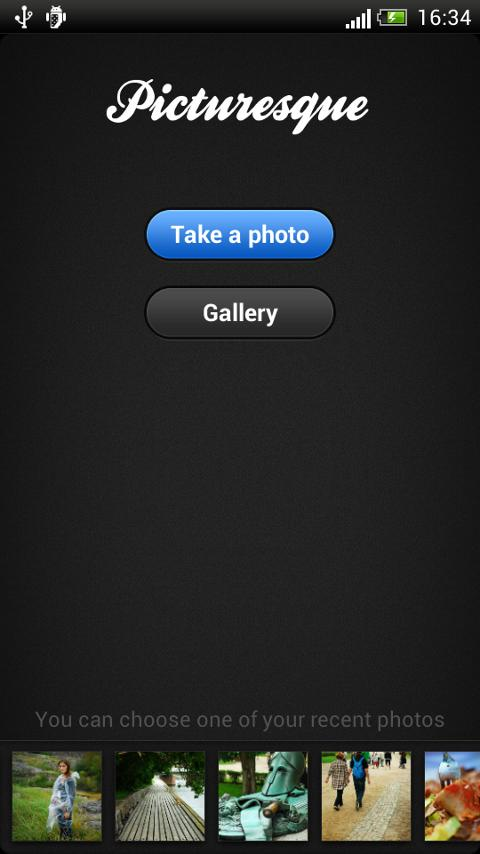 Picturesque Photo Editor- screenshot