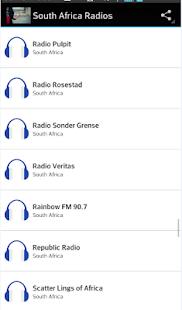 South Africa Radios - náhled