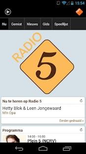 NPO Radio 5 - screenshot thumbnail