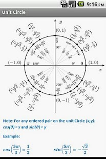 Trigonometry Quick Reference - screenshot thumbnail
