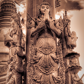 Taman Lumbini by Alief N Ardiansyah - Buildings & Architecture Statues & Monuments ( sumatra utara, indonesia, taman lumbini, budhist, wihara )