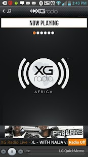 XGRadio Africa- screenshot thumbnail