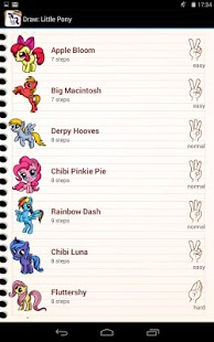 Game Draw My Little Pony APK for Kindle