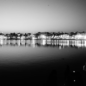 Reflection. by Tejaswa Trivedi - Black & White Landscapes (  )