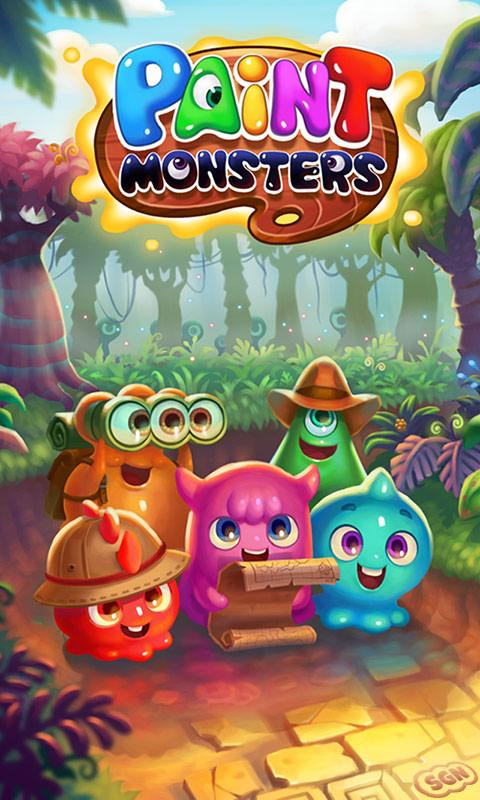Paint Monsters- screenshot