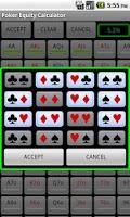 Screenshot of Poker Equity Calculator