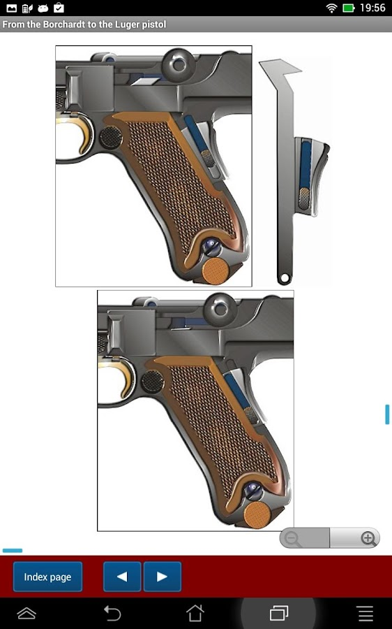 DWM made luger pistols- screenshot