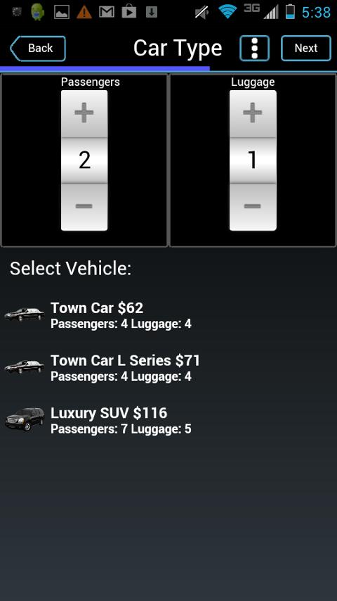 Limosys Mobile - screenshot