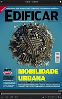 Screenshot of Revista Edificar