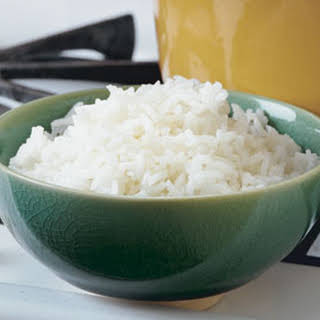 Basic Fluffy White Rice.