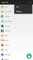 Screenshot of AppLock (SR AppLock)