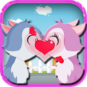 Kissing Game-Kitten Love Fun icon
