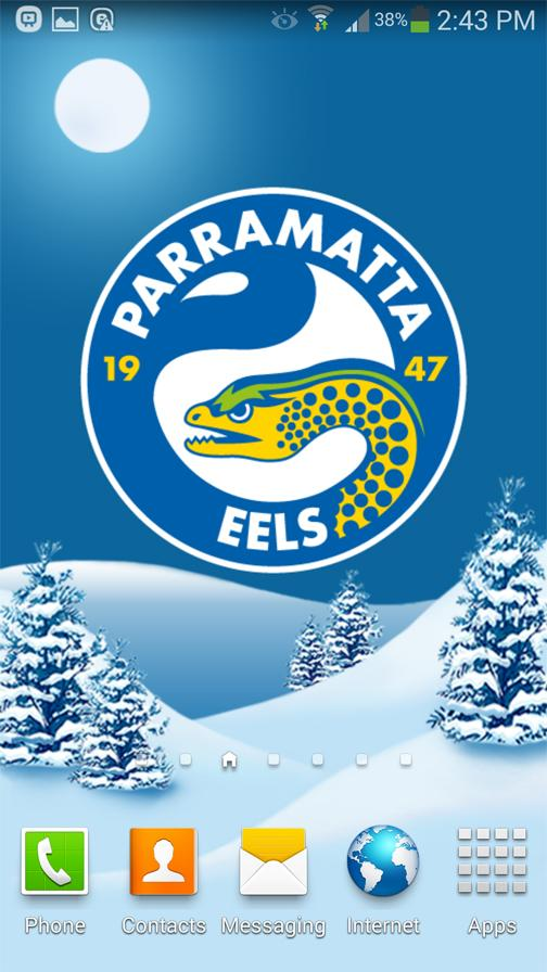 Parramatta Eels Snow Globe- screenshot