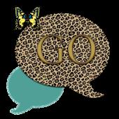 GO SMS THEME/LeopardButterfly3