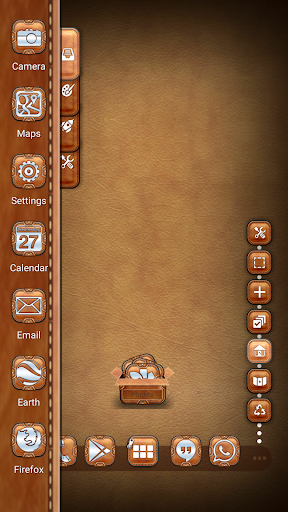 Leather Pouch TSF Shell Theme