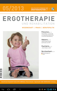 Ergotherapie und Rehabilition - screenshot thumbnail