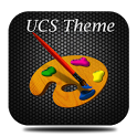 UCS Dark Texture Theme icon
