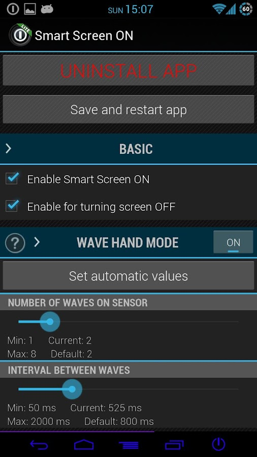 Smart Screen ON LITE - screenshot