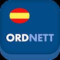 Ordnett - Spansk blå ordbok icon