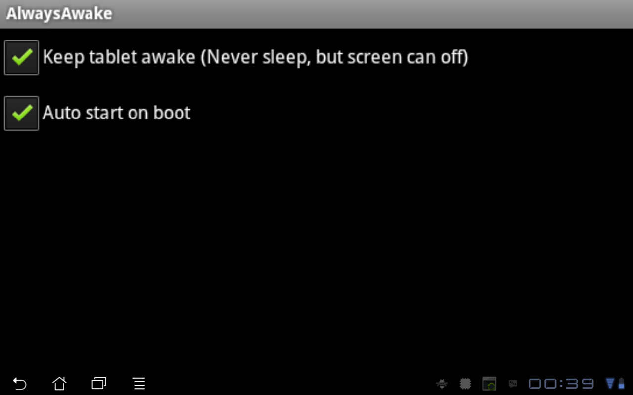 Always Awake (ROOT REQUIRED) - screenshot