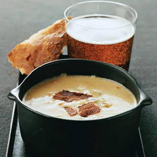 Cheddar Beer Soup.
