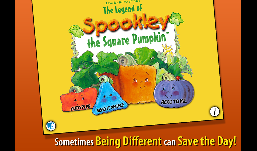 Spookley the Square Pumpkin - screenshot