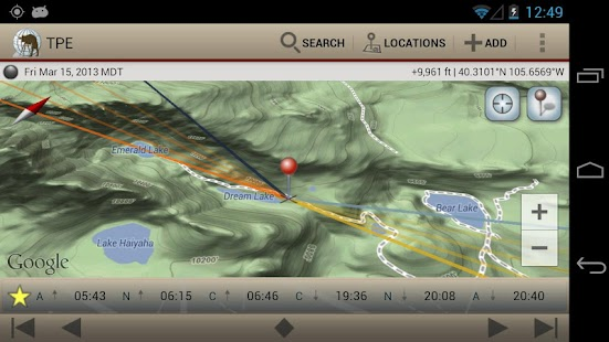 The Photographer's Ephemeris Screenshot 12