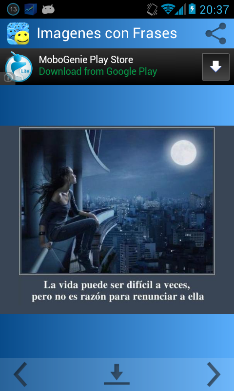 Imagenes con Frases de Animo - screenshot