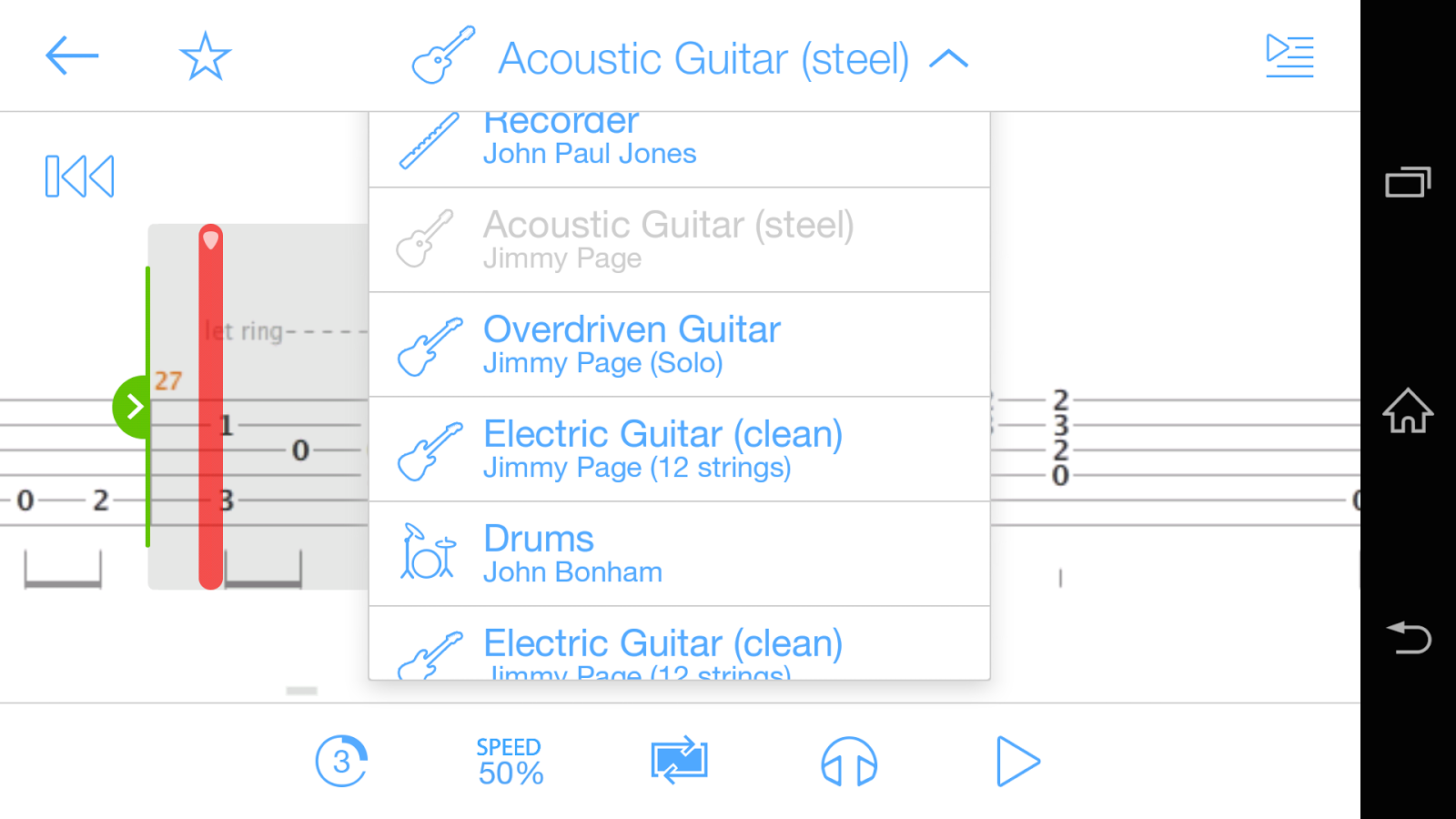 Songsterr Guitar Tabs u0026 Chords - Aplicaciones de Android en Google Play