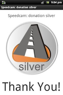 Speedcam: donation silver- screenshot thumbnail