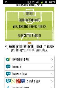 FantAndroid fantasy soccer - screenshot thumbnail