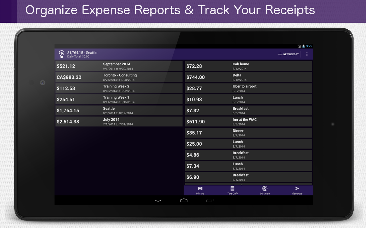 Smart Receipts PRO [No Ads]- screenshot