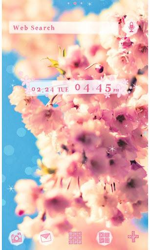 かわいい桜壁紙・アイコン-SAKURA Sky-無料きせかえ