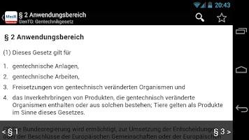 Screenshot of Medizinrecht