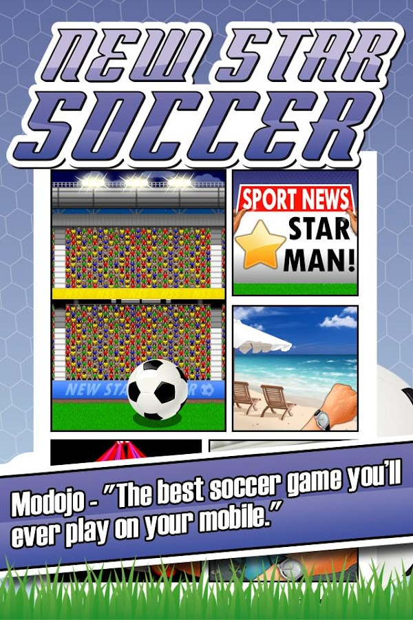 New Star Soccer - screenshot