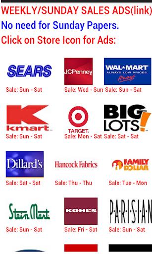Weekly Sales Ads Lookup