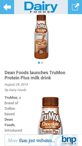 【免費新聞App】Dairy Foods-APP點子