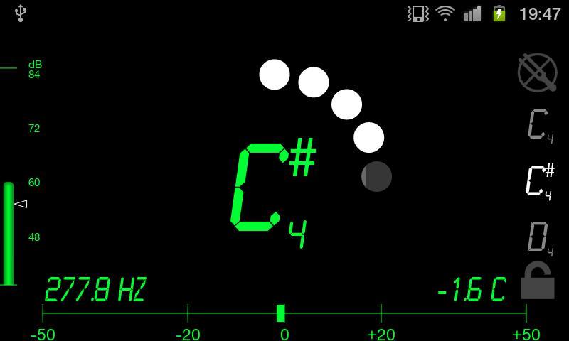 Tuner - DaTuner Pro (Strobe!)- screenshot