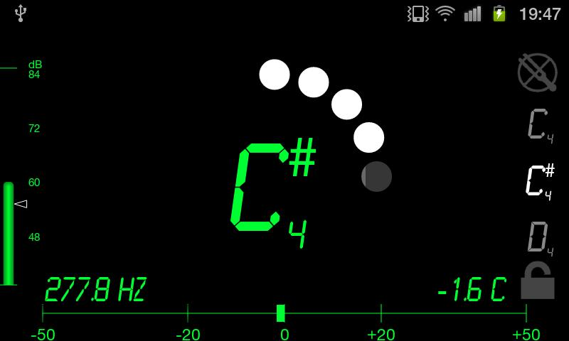 Tuner - DaTuner Pro - screenshot